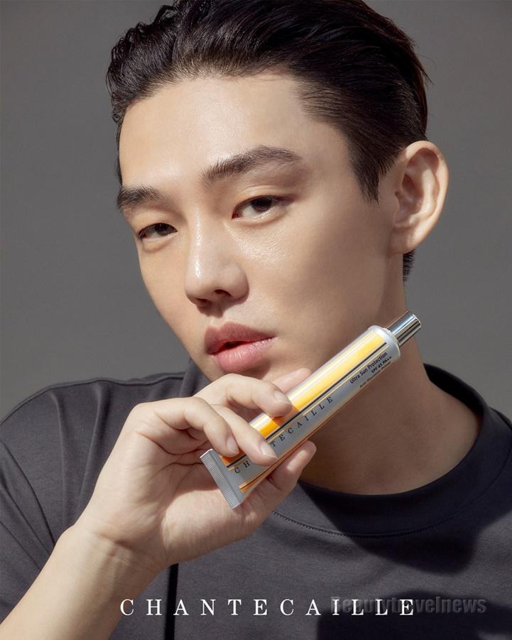 뉴욕 럭셔리 코스메틱 샹테카이, 뮤즈 유아인 새로운 광고 비주얼 공개