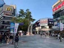 [현장 포토] 광복절 연휴 풍경 - 의정부 행복로 문화의 거리